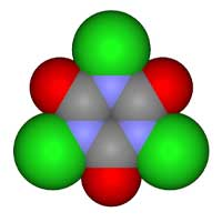 Molecular Structure of Chlorine